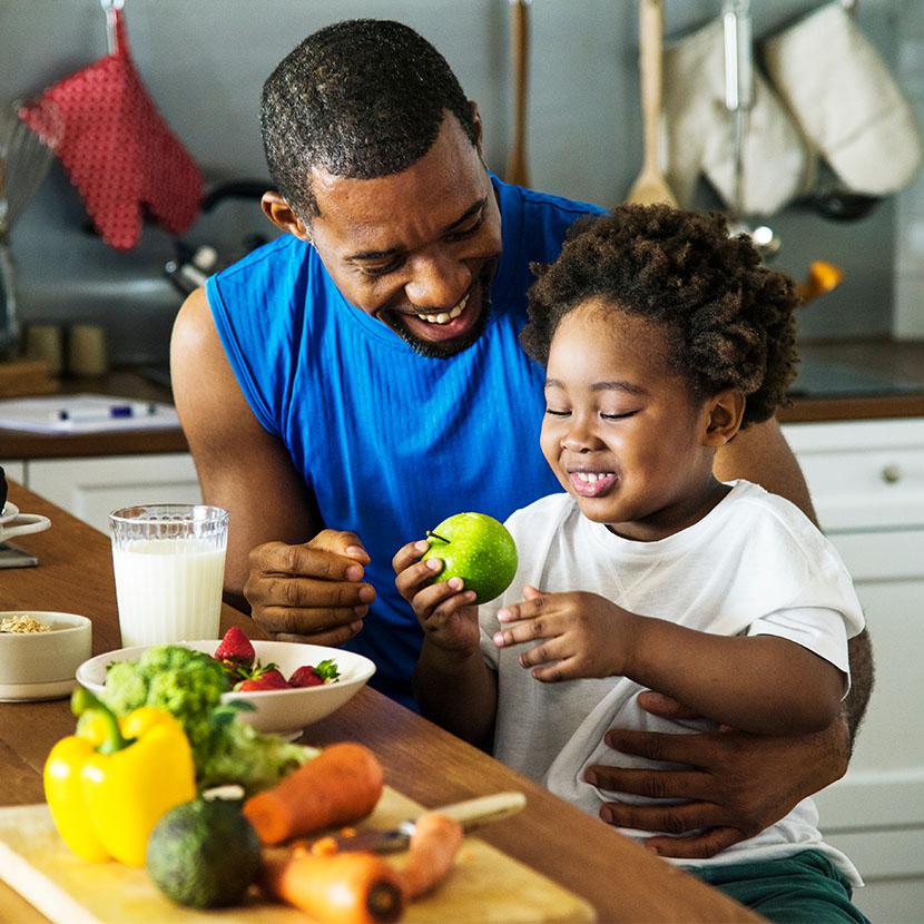 Healthy nutrition habits